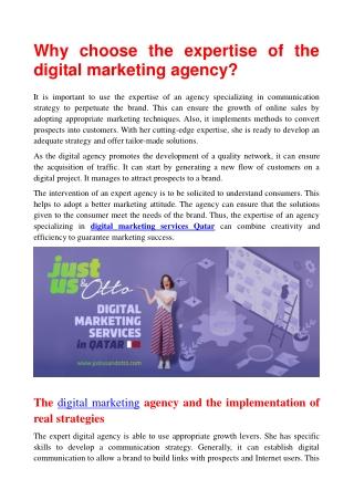 Digital Marketing Agency Qatar