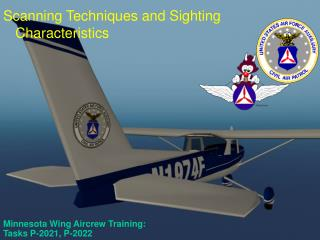 Minnesota Wing Aircrew Training:  Tasks P-2021, P-2022
