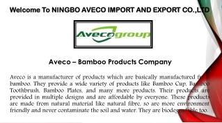Bamboo Cup - Bamboo Toothbrush, Bamboo Plates