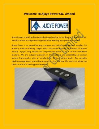 Waterproof Battery Product - Waterproof Lithium Battery