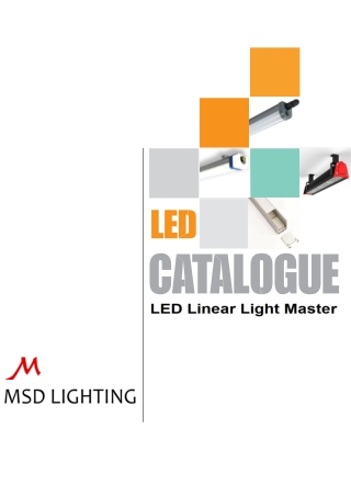 Led Linear Light - Led Batten Light, Led Strip Light
