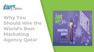 Marketing Agency Qatar Services