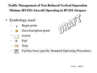 Traffic Management of Non-Reduced Vertical Separation Minima (RVSM) Aircraft Operating in RVSM Airspace