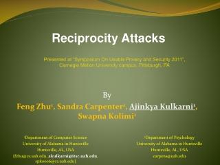 By Feng Zhu 1 , Sandra Carpenter 2 , Ajinkya Kulkarni 1 , Swapna Kolimi 1