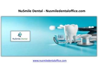 NuSmile Dental - nusmiledentaloffice.com
