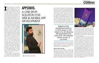 CIOReview India Magazine Feature Appsinvo as a Company of the Year 2019   A One-Stop-Solution For Web & Mobile App Devel