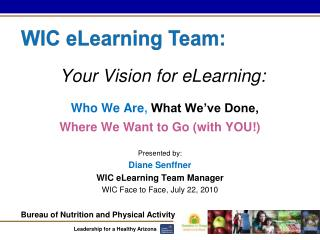Your Vision for eLearning: