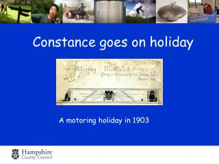 Constance goes on holiday