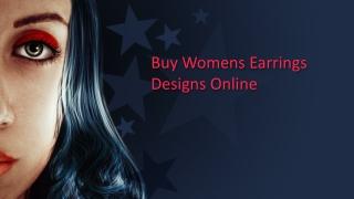 Buy Womens Earrings Designs Online