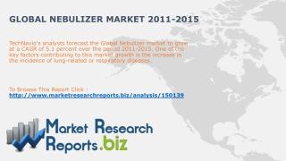 Global Nebulizer Market 2011-2015:MarketResearchReports.biz
