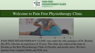 Best Chiropractic Treatment In Dwarka, Delhi   Pain Free Physiotherapy