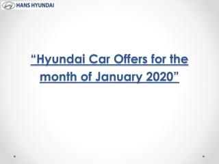 Hyundai car offers