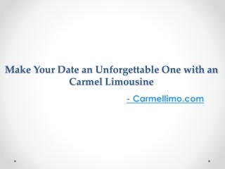 New York Limousines - Carmellimo