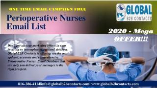 Perioperative Nurses Email List