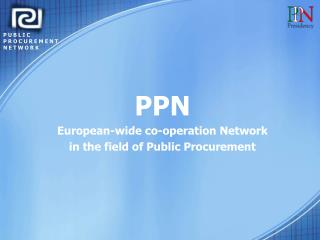 PUBLIC PROCUREMENT NETWORK
