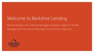 Reverse Mortgage Information For Seniors - Berkshire Lending