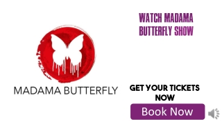 Cheap Tickets for Madama Butterfly