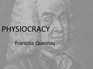 PHYSIOCRACY