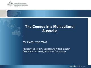 The Census in a Multicultural Australia