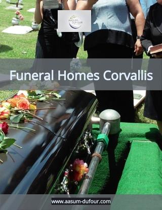Funeral Homes Corvallis