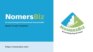 Accounting Services For Small Business & Startups - NomersBiz