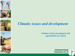 Climatic issues and development