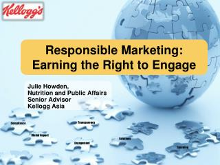 Responsible Marketing: Earning the Right to Engage