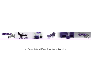 A Complete Office Furniture Service