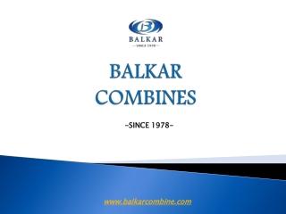 Combine harvester manufacturer   Balkar combine