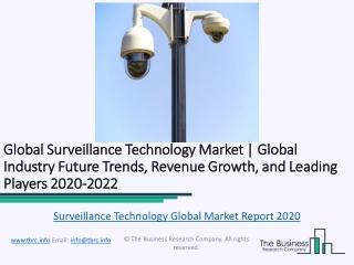 Global Surveillance Technology Market Report 2020