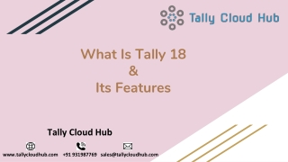 Tally On Cloud | Run Tally Online On Mac | Tally MultiUser | Tally Erp 9 on Cloud | Tally Remote Access