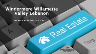 Real Estate Broker | Windermere Willamette Valley Lebanon | Lebanon Real Estate Agency