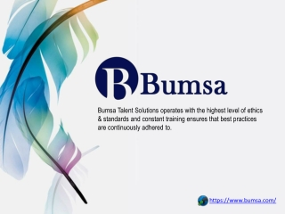 Bumsa Talent Solutions | Staff Outsourcing Company