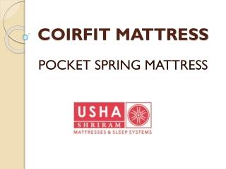 Usha Shriram - Pocket Spring Mattress 0nline