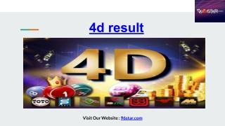 4d result