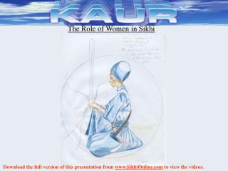 The Role of Women in Sikhi