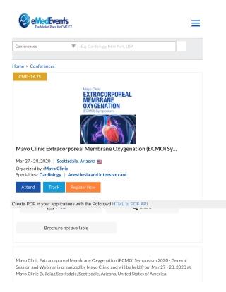 Mayo Clinic Extracorporeal Membrane Oxygenation