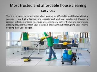 Maid Service in Ottawa