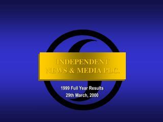 INDEPENDENT NEWS & MEDIA PLC.