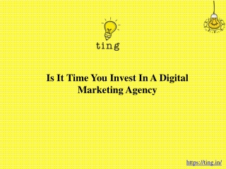 Is It Time You Invest In A Digital Marketing Agency?