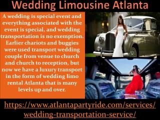 Looking For Limo Rental Service Atlanta Contact Atlanta Party Ride