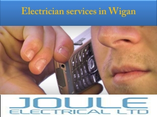 Electrical Services in Wigan