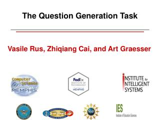 The Question Generation Task