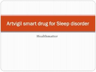 Artvigil smart drug for Sleep disorder