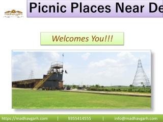 Picnic Spots near Delhi