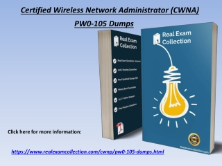 2020 Latest CWNP PW0-105 Exam Questions