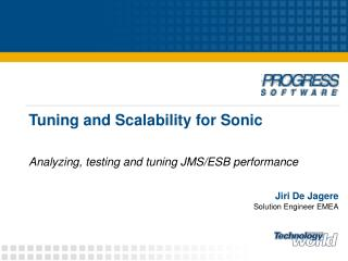Tuning and Scalability for Sonic