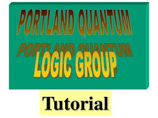 PORTLAND QUANTUM  LOGIC GROUP