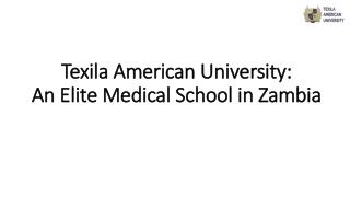 An Elite Medical School in Zambia