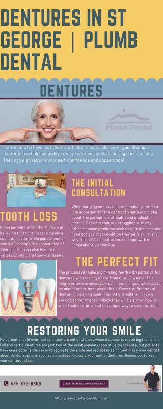 Dentures in St George | Plumb Dental